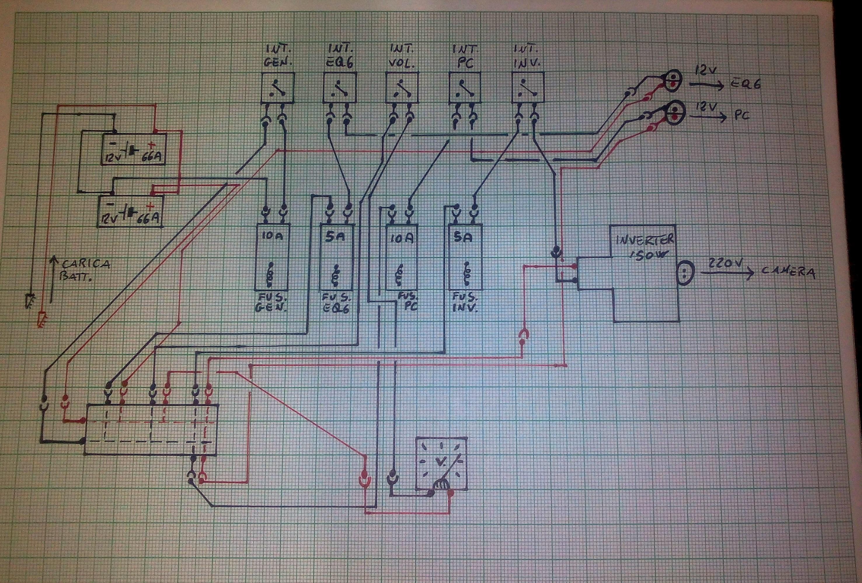 Schema Elettrico : Schema elettrico piero img